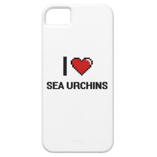 I love Sea Urchins Digital Design iPhone 5 Cases