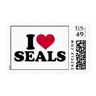I love Seals Postage