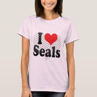 I Love Seals T-Shirt