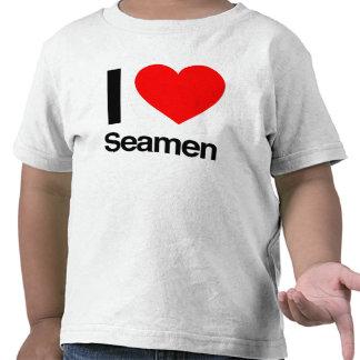 i love seamen t-shirt