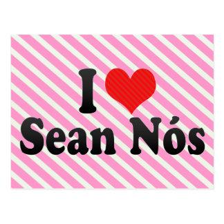 I Love Sean Nós Postcard