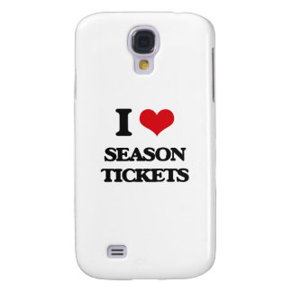 I Love Season Tickets Galaxy S4 Case