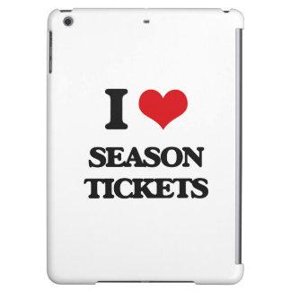 I Love Season Tickets iPad Air Case