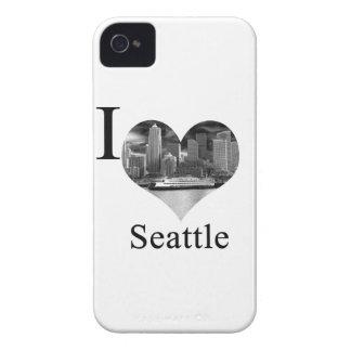 I Love Seattle Case-Mate iPhone 4 Case