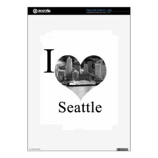I Love Seattle iPad 2 Decal