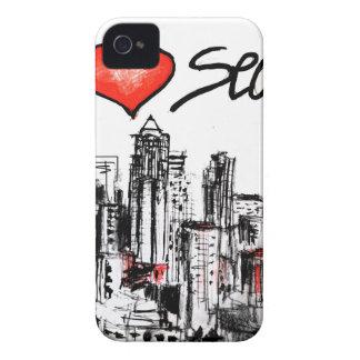 I love Seattle iPhone 4 Case-Mate Case