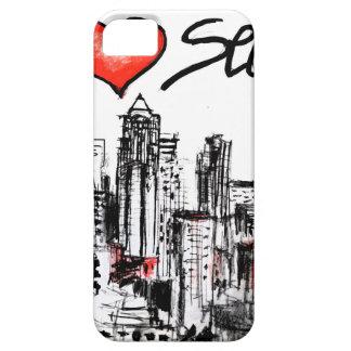 I love Seattle iPhone SE/5/5s Case