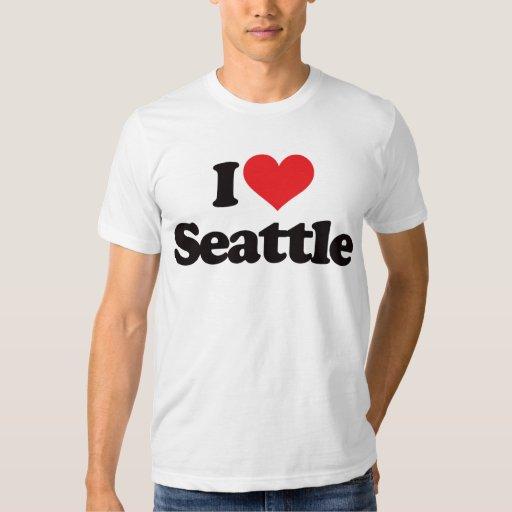I love seattle t shirt zazzle for Custom dress shirts seattle