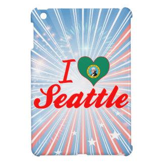 I Love Seattle, Washington iPad Mini Covers