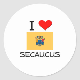 I Love Secaucus New Jersey Stickers