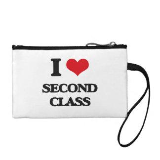 I Love Second Class Change Purse