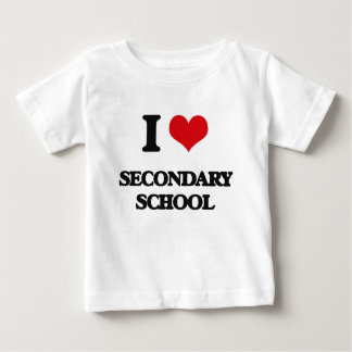 I Love Secondary School Shirt
