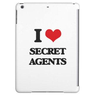 I Love Secret Agents iPad Air Covers