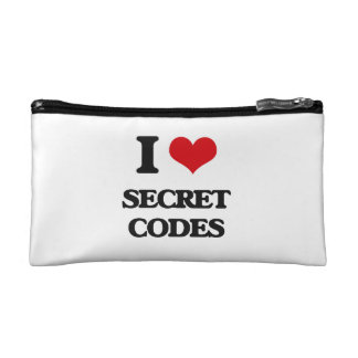 I love Secret Codes Makeup Bag