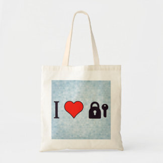 I Love Security Systems Tote Bag