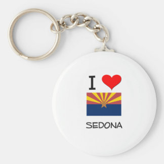 I Love SEDONA Arizona Keychain