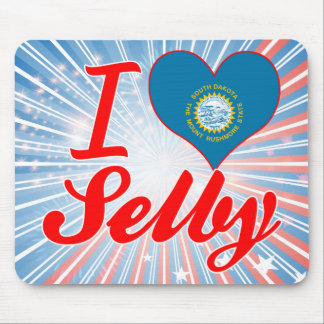 I Love Selby, South Dakota Mouse Pad