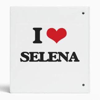 I Love Selena 3 Ring Binder