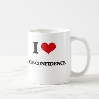 I Love Self-Confidence Coffee Mug