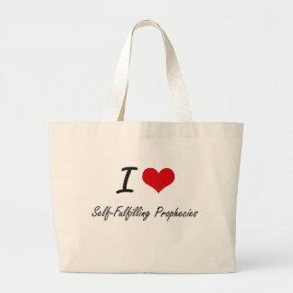 I Love Self-Fulfilling Prophecies Jumbo Tote Bag