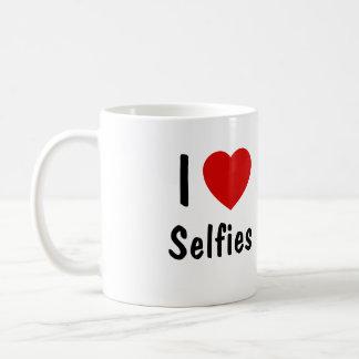 I Love Selfies Coffee Mug