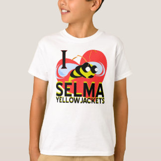 I LOVE SELMA YELLOWJACKETS T-SHIRT