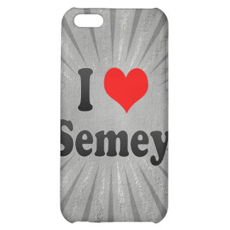 I Love Semey, Kazakhstan iPhone 5C Covers