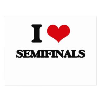 I Love Semifinals Postcard