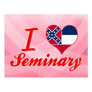 I Love Seminary, Mississippi Postcard