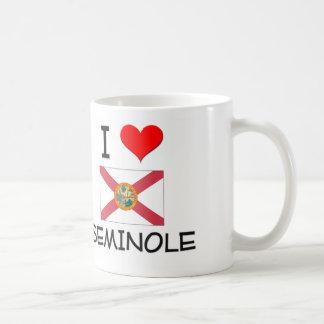 I Love SEMINOLE Florida Coffee Mug