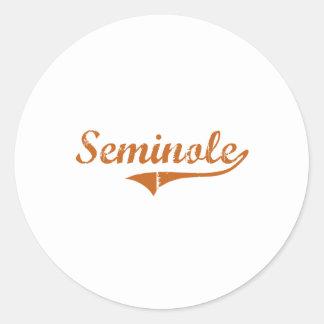 I Love Seminole Texas Stickers