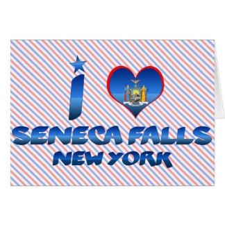 I love Seneca Falls, New York Greeting Card