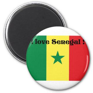 i love Senegal 2 from 933958store Refrigerator Magnet