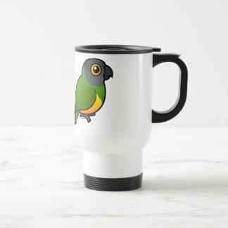 I Love Senegal Parrots Coffee Mugs