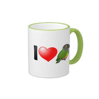 I Love Senegal Parrots Mug
