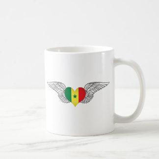 I Love Senegal -wings Coffee Mugs