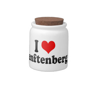 I Love Senftenberg, Germany Candy Dishes
