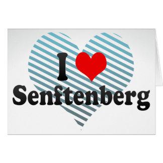 I Love Senftenberg, Germany Greeting Card