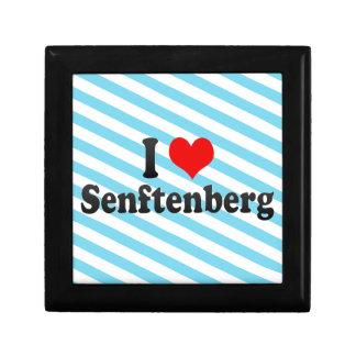 I Love Senftenberg, Germany Trinket Boxes