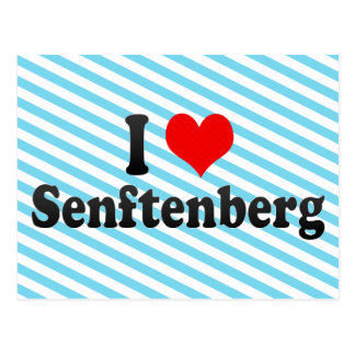 I Love Senftenberg, Germany Postcard
