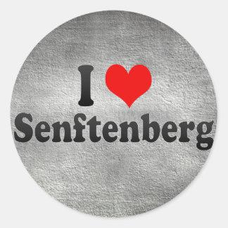 I Love Senftenberg, Germany Round Sticker