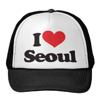I Love Seoul Trucker Hat