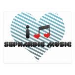 I Love Sephardic Music Postcards