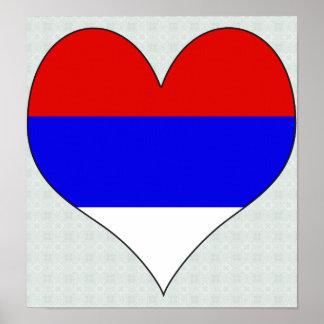 I Love Serbia Print