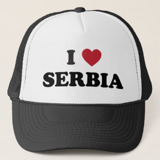 I Love Serbia Trucker Hat
