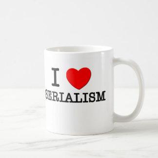 I Love Serialism Classic White Coffee Mug