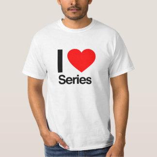 i love series t-shirt