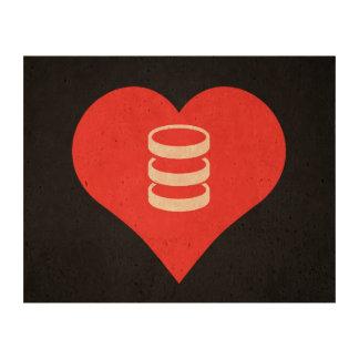 I Love servers Design Queork Photo Print
