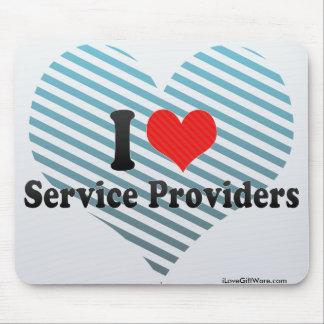 I Love Service Providers Mousepad