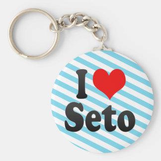 I Love Seto, Japan. Aisuru Seto, Japan Key Chains